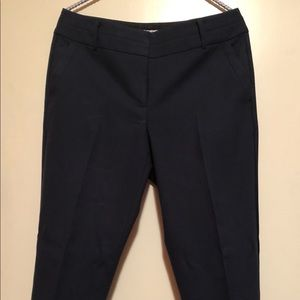 Ann Taylor Loft Tapered High Waisted Trouser Pants